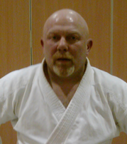 Sensei Graham Crispin 5th Dan